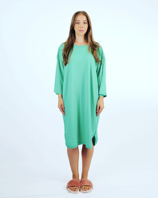 Emily Nighties available in new and revamped colors. Mint, Pink and Blue. Additional colors coming soon.   Made in Canada